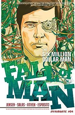 The Six Million Dollar Man: Fall of Man No.4: Digital Exclusive Edition