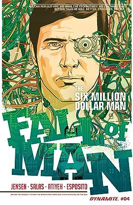 The Six Million Dollar Man: Fall of Man #4: Digital Exclusive Edition