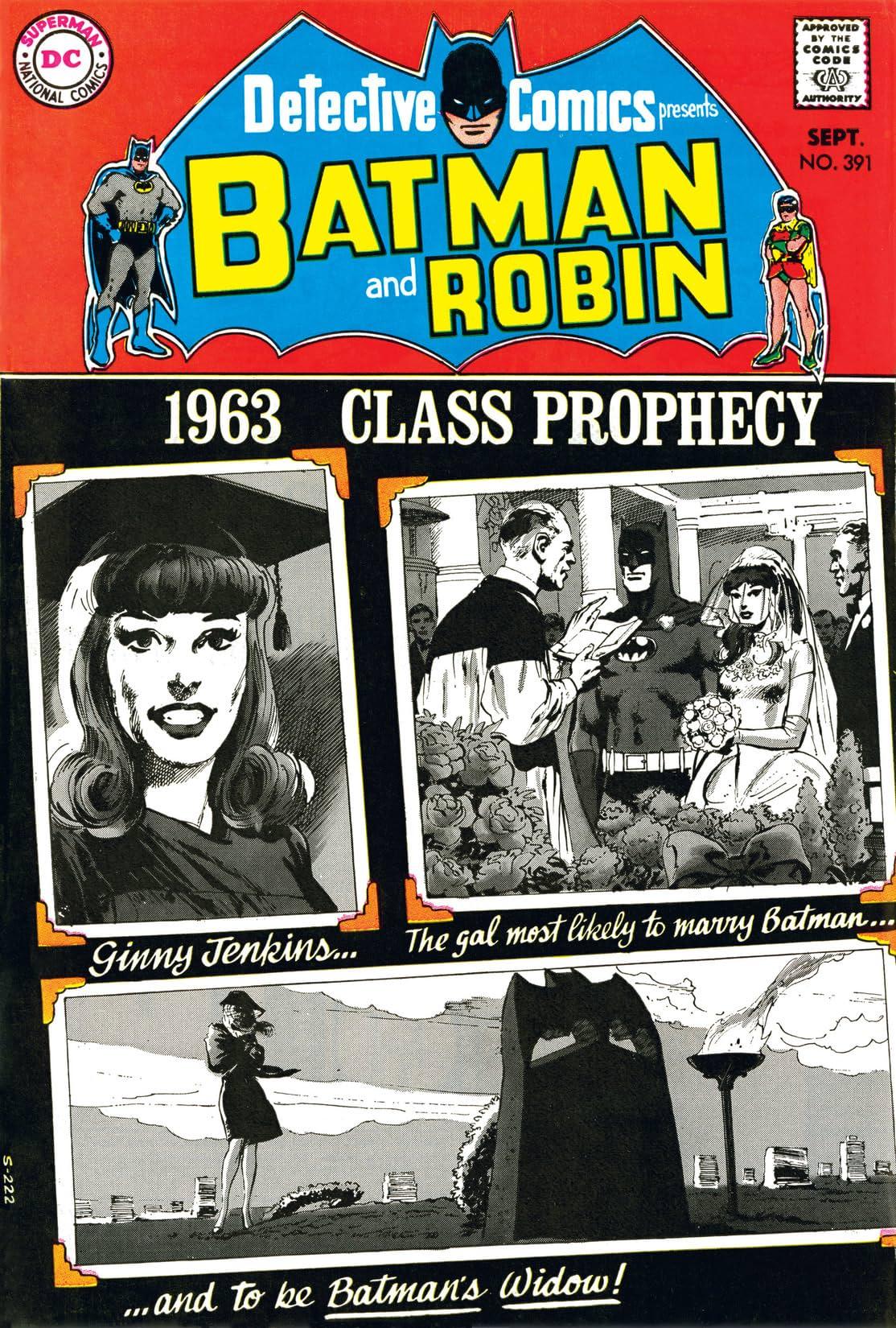 Detective Comics (1937-2011) #391
