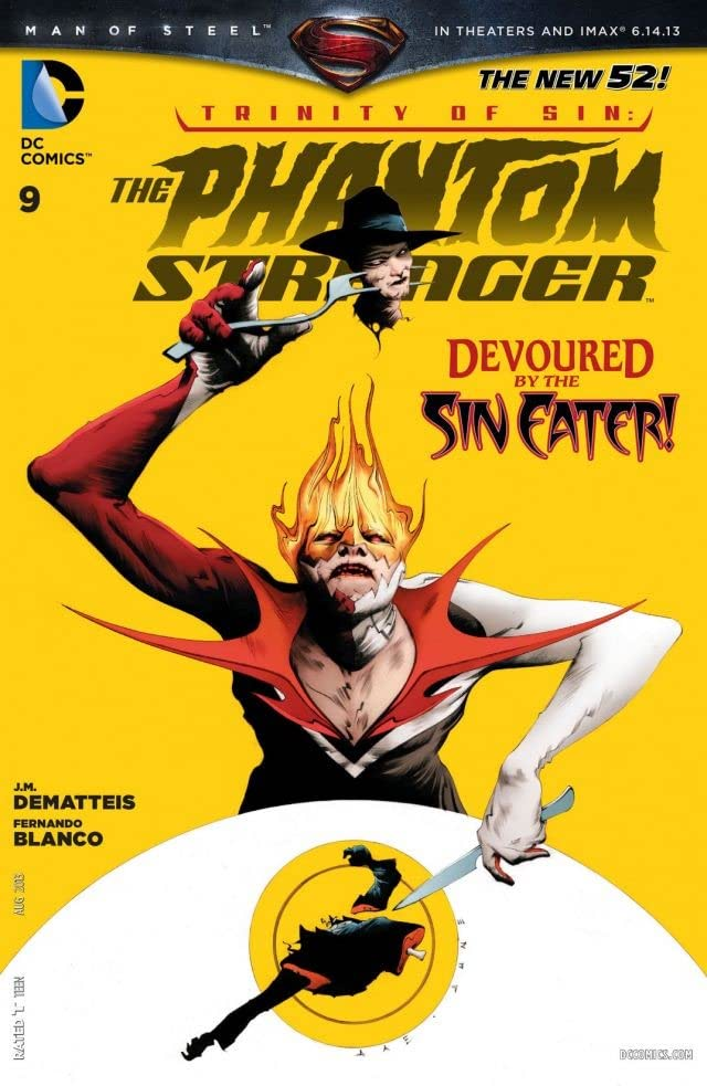 The Phantom Stranger (2012-2014) #9