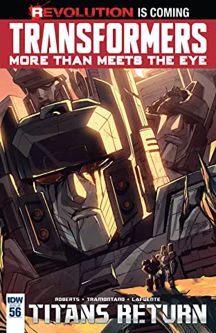 Transformers: More Than Meets the Eye (2011-) #56