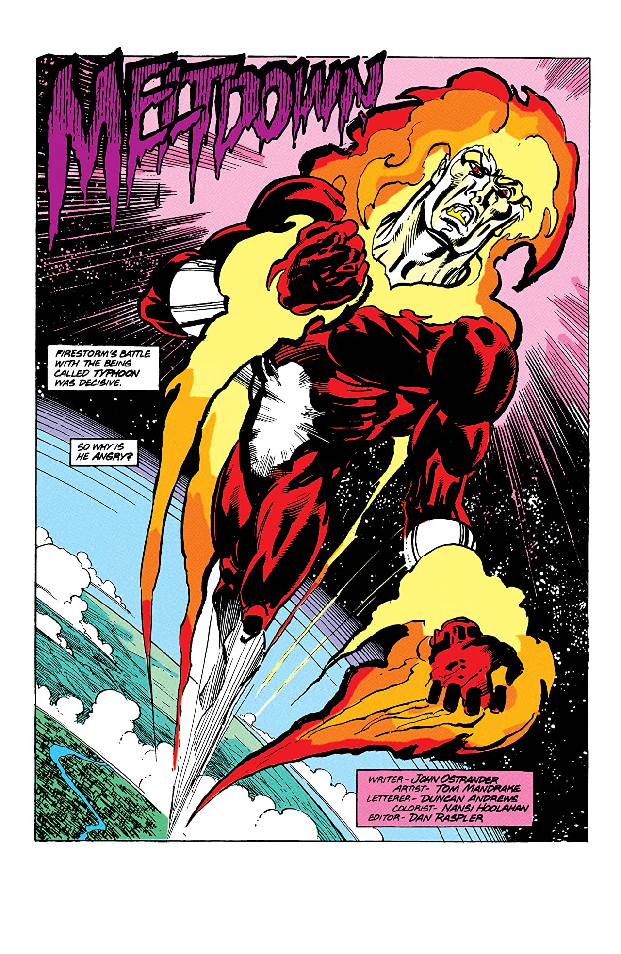 Firestorm: The Nuclear Man (1982-1990) #88