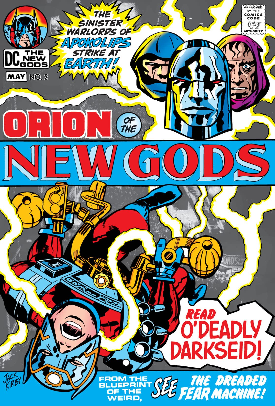 The New Gods (1971-1978) #2