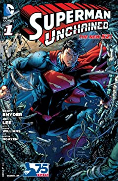 Superman Unchained (2013-2014) #1