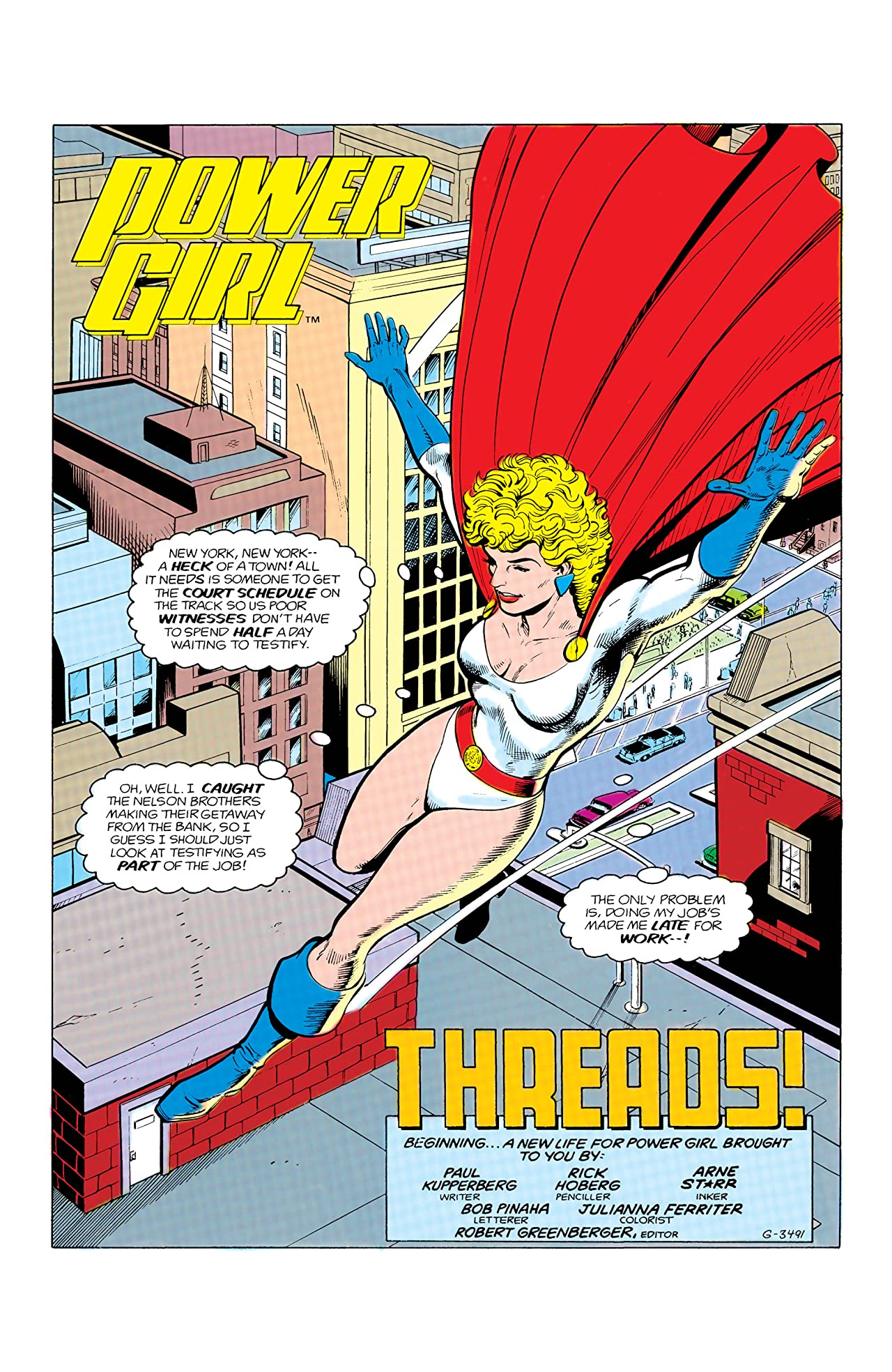 Power Girl (1988-) #1