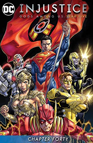 Injustice: Gods Among Us: Year Five (2015-) #40
