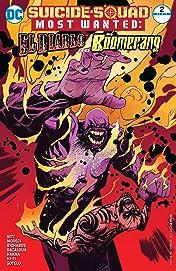 Suicide Squad Most Wanted: El Diablo and Boomerang (2016-2017) #2