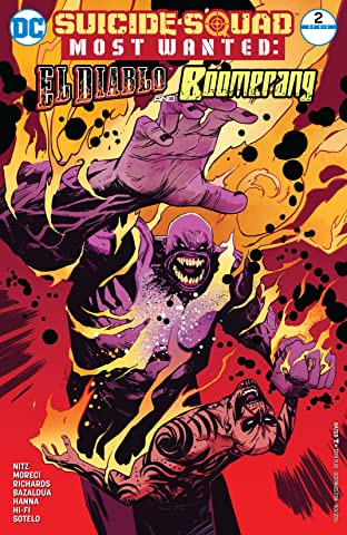 Suicide Squad Most Wanted: El Diablo and Boomerang (2016-2017) #2