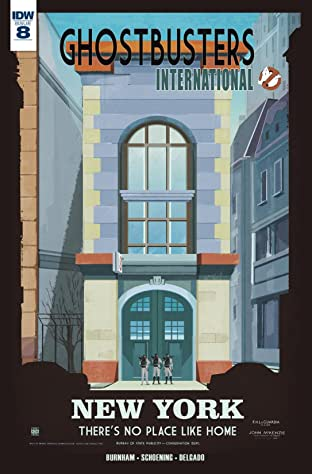 Ghostbusters International #8