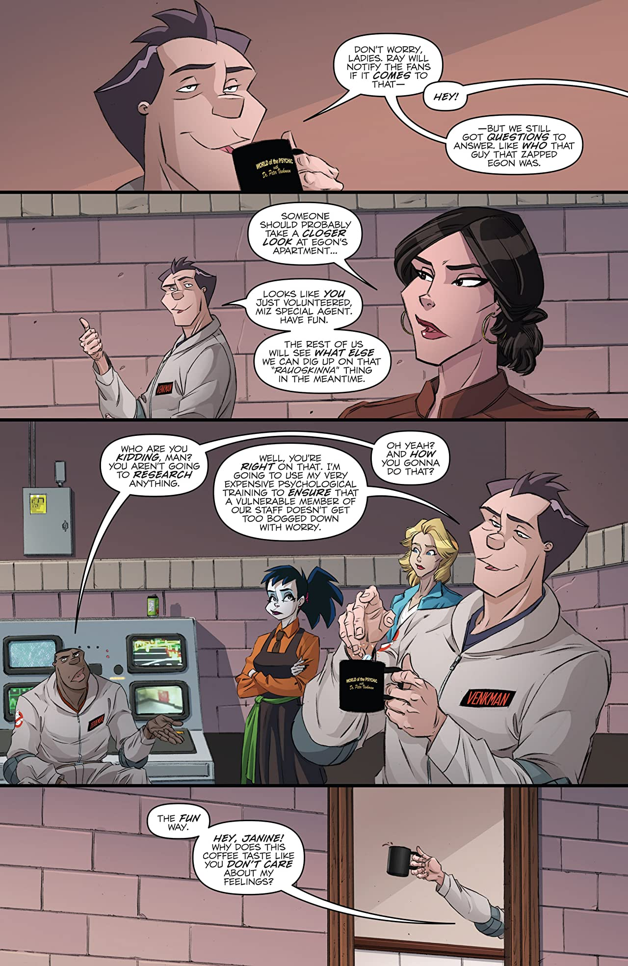 Ghostbusters International #8