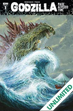 Godzilla: Rage Across Time #1 (of 5)
