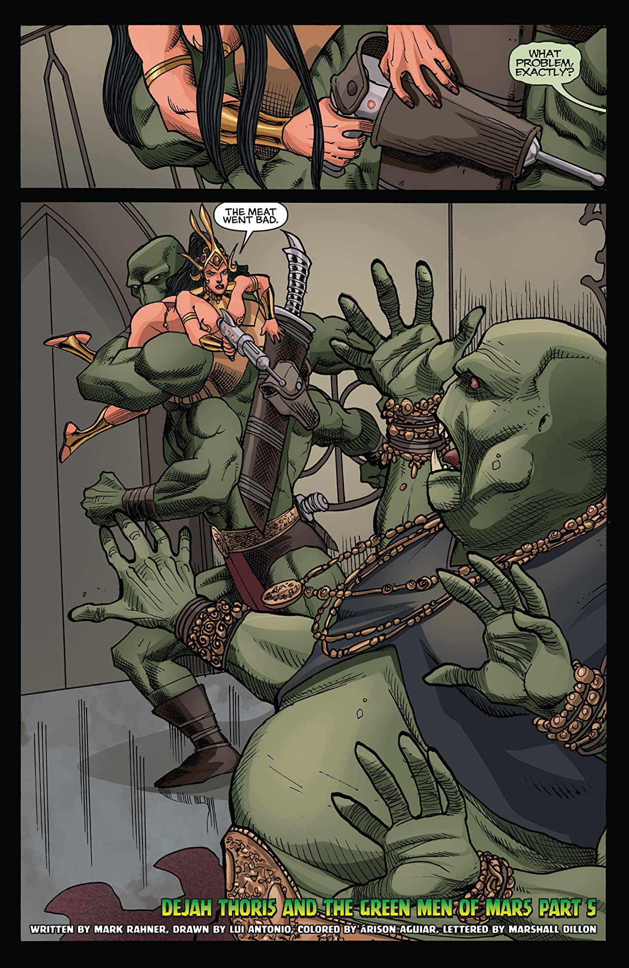 Dejah Thoris and the Green Men of Mars #5 (of 12)