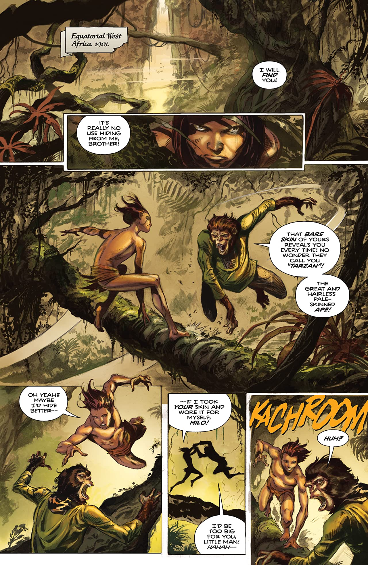 Tarzan on the Planet of the Apes #1