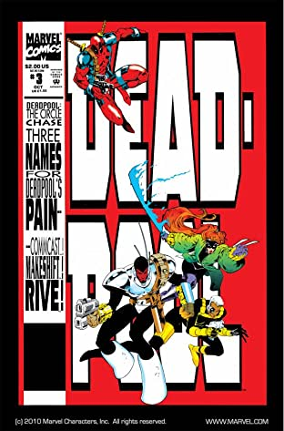 Deadpool: The Circle Chase No.3