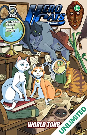 Hero Cats Vol. 4: World Tour