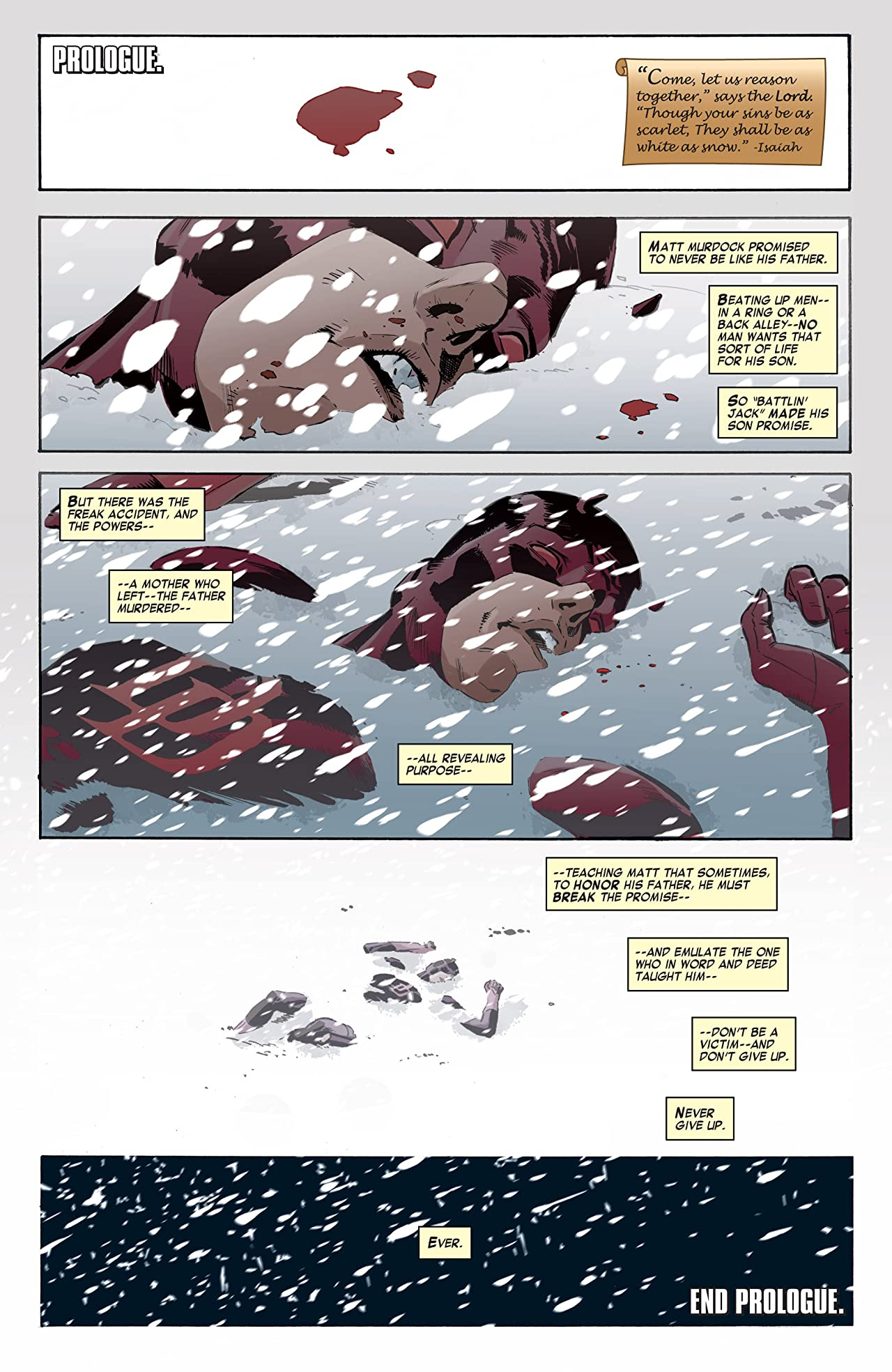 Daredevil: Dark Nights #1 (of 8)