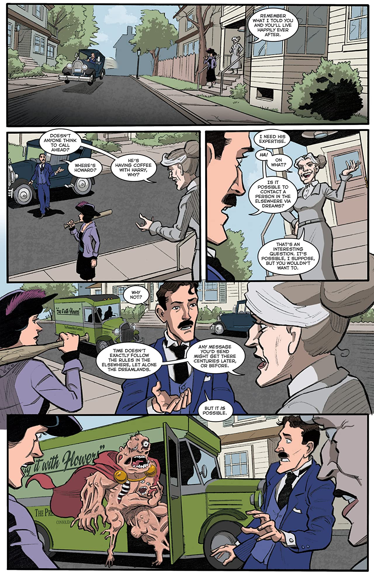Herald: Lovecraft & Tesla #9