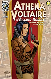 Athena Voltaire and the Volcano Goddess No.1