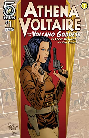 Athena Voltaire and the Volcano Goddess No.1