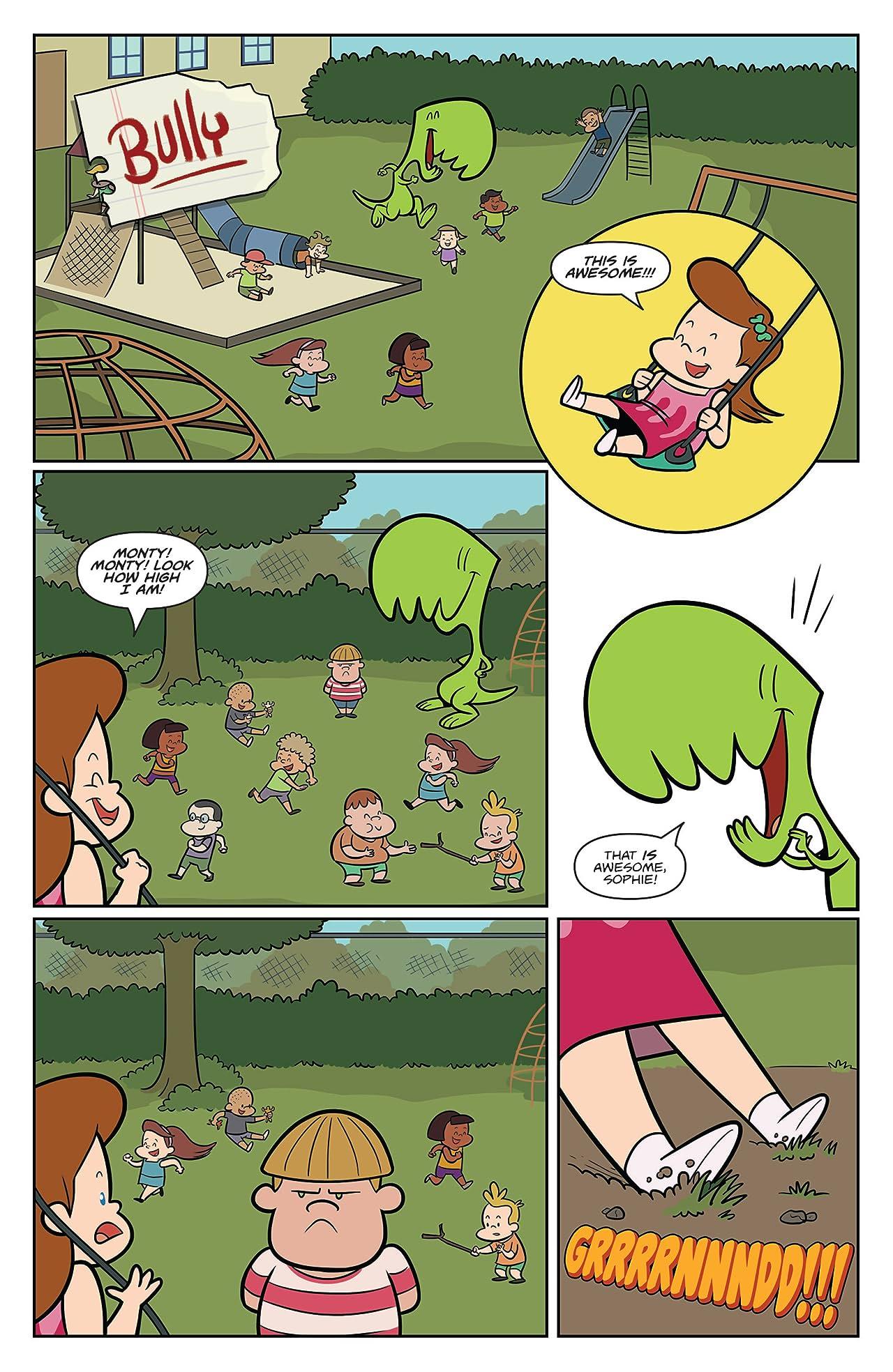 Monty the Dinosaur #3