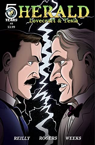 Herald: Lovecraft & Tesla #8