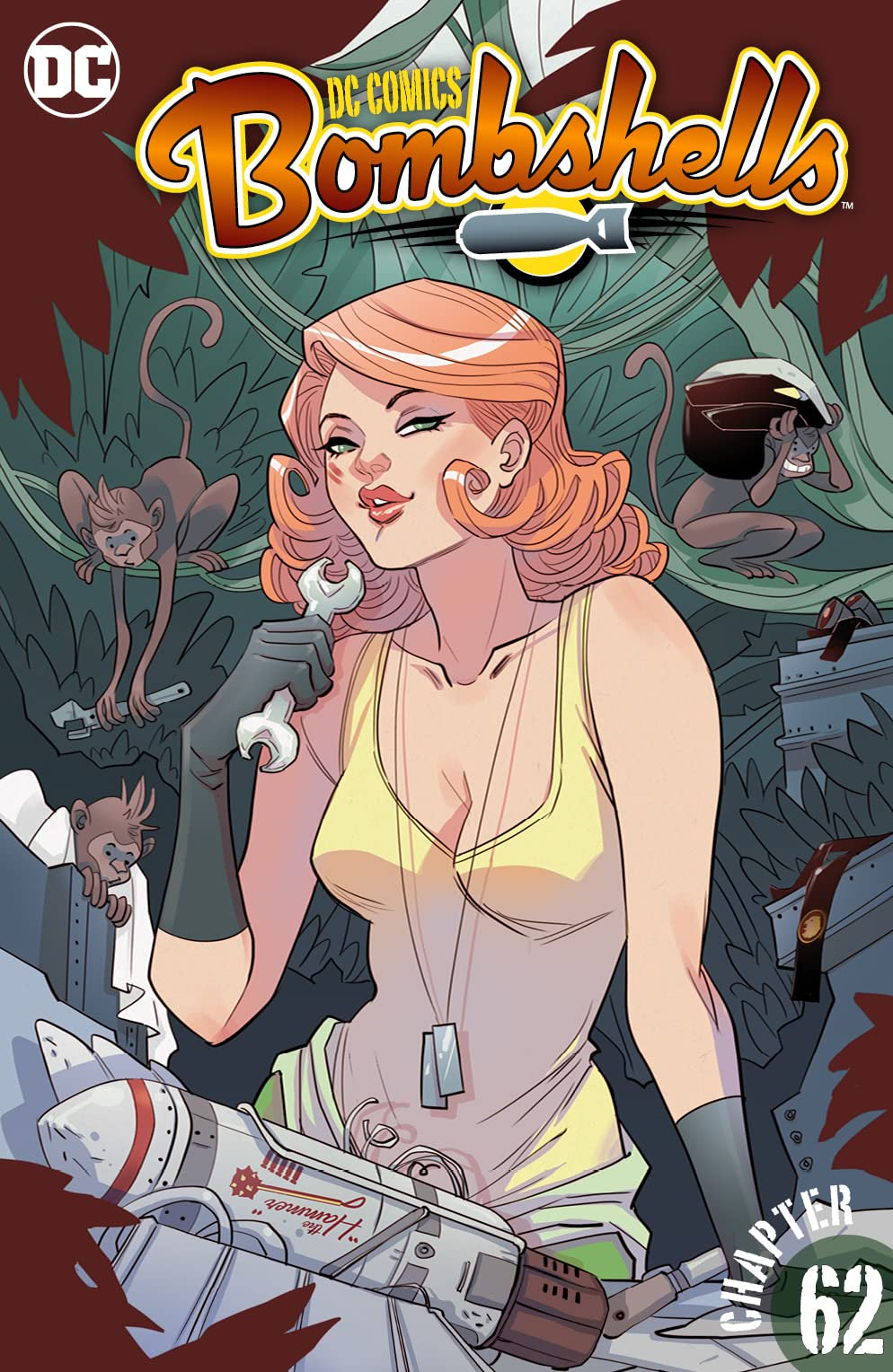 DC Comics: Bombshells (2015-2017) #62