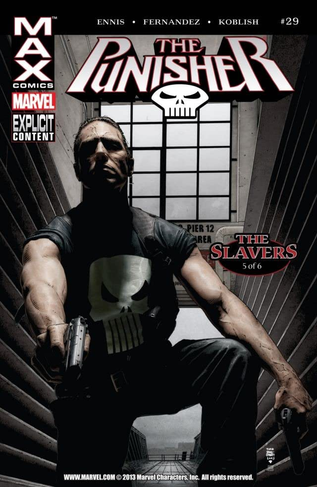The Punisher (2004-2008) #29