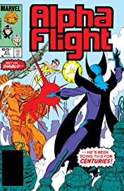 Alpha Flight (1983-1994) #21