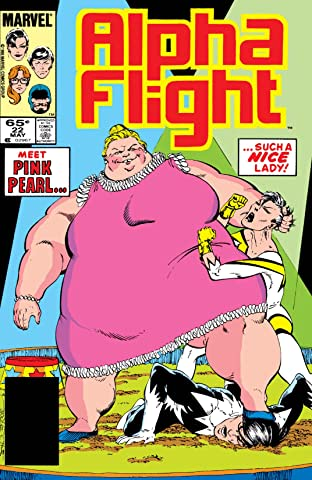 Alpha Flight (1983-1994) #22