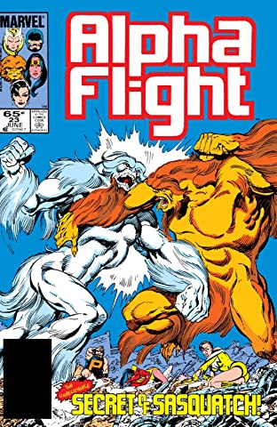 Alpha Flight (1983-1994) #23
