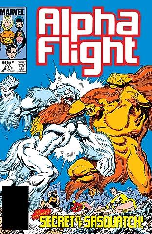 Alpha Flight (1983-1994) #23