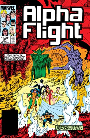 Alpha Flight (1983-1994) #24