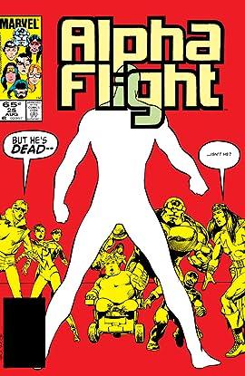Alpha Flight (1983-1994) #25