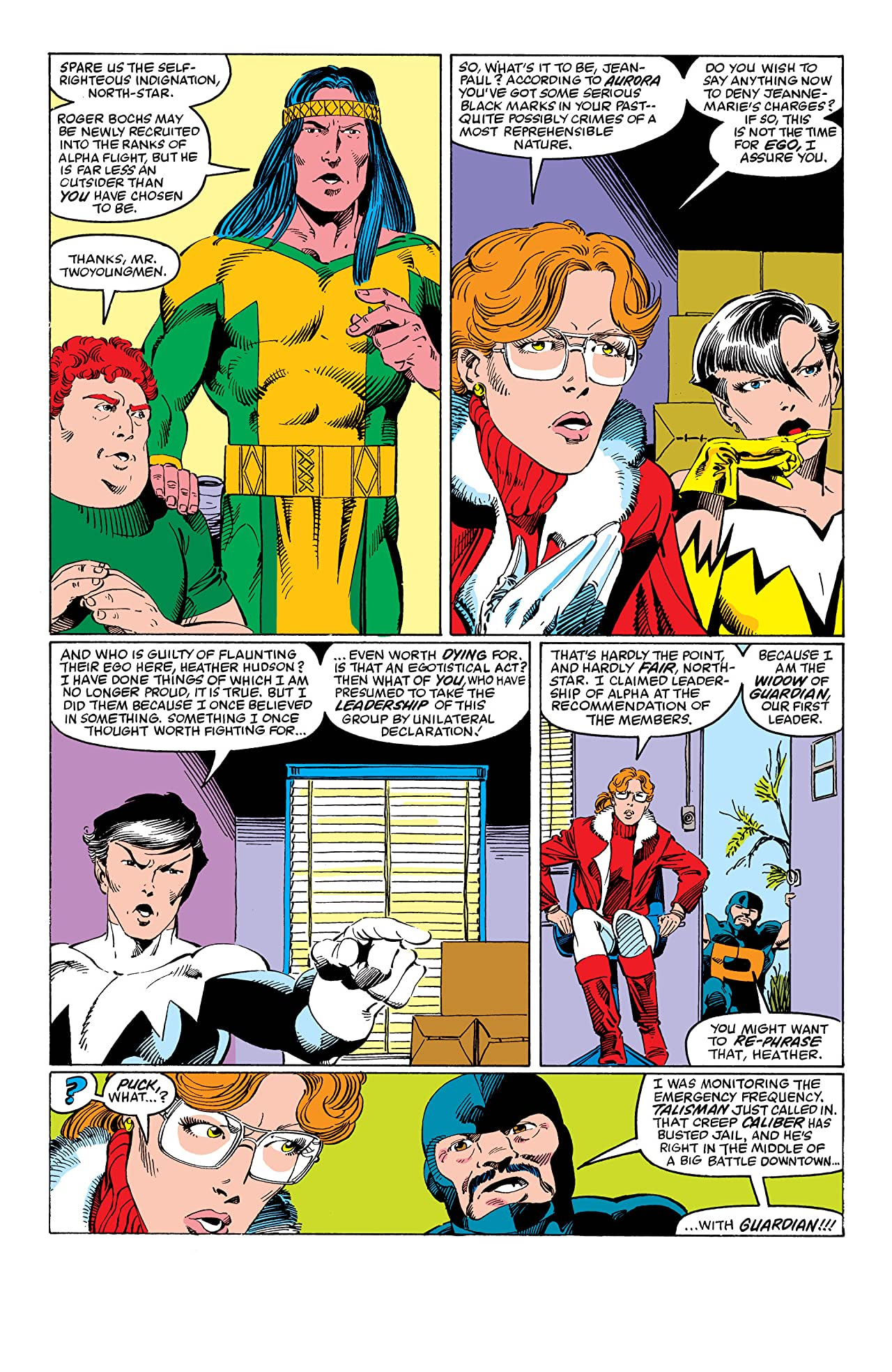 Alpha Flight (1983-1994) #25