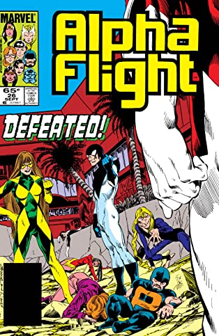 Alpha Flight (1983-1994) #26
