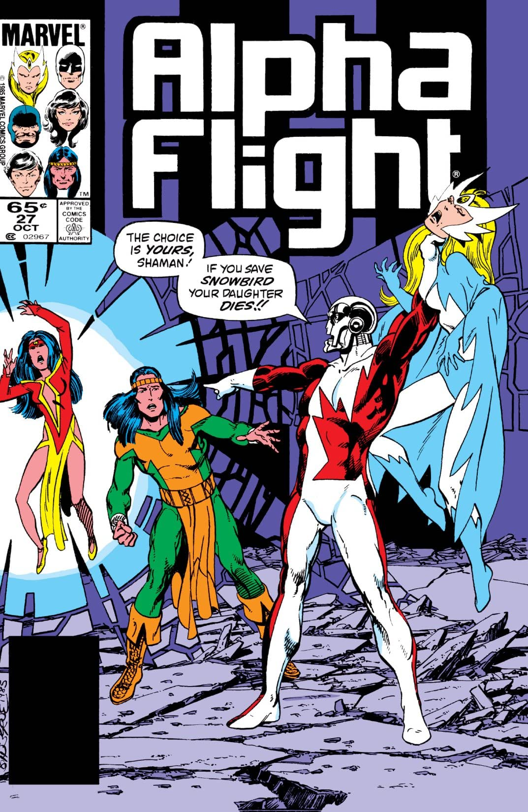 Alpha Flight (1983-1994) #27