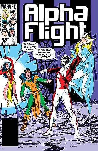 Alpha Flight (1983-1994) #27