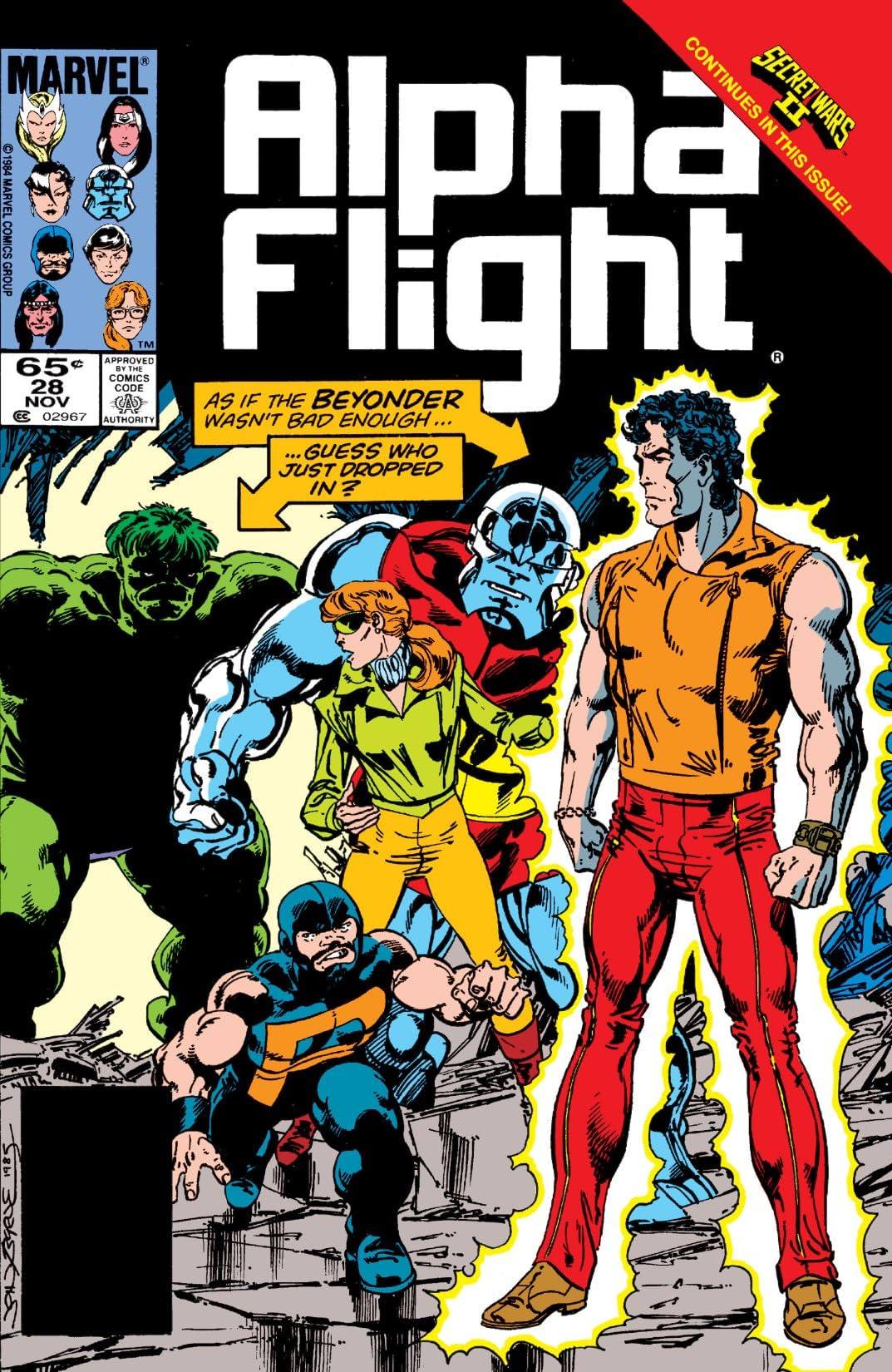 Alpha Flight (1983-1994) #28