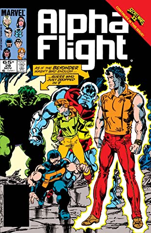 Alpha Flight (1983-1994) #28
