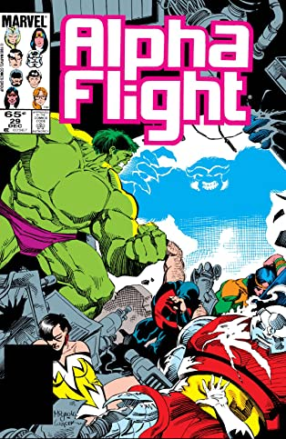 Alpha Flight (1983-1994) #29