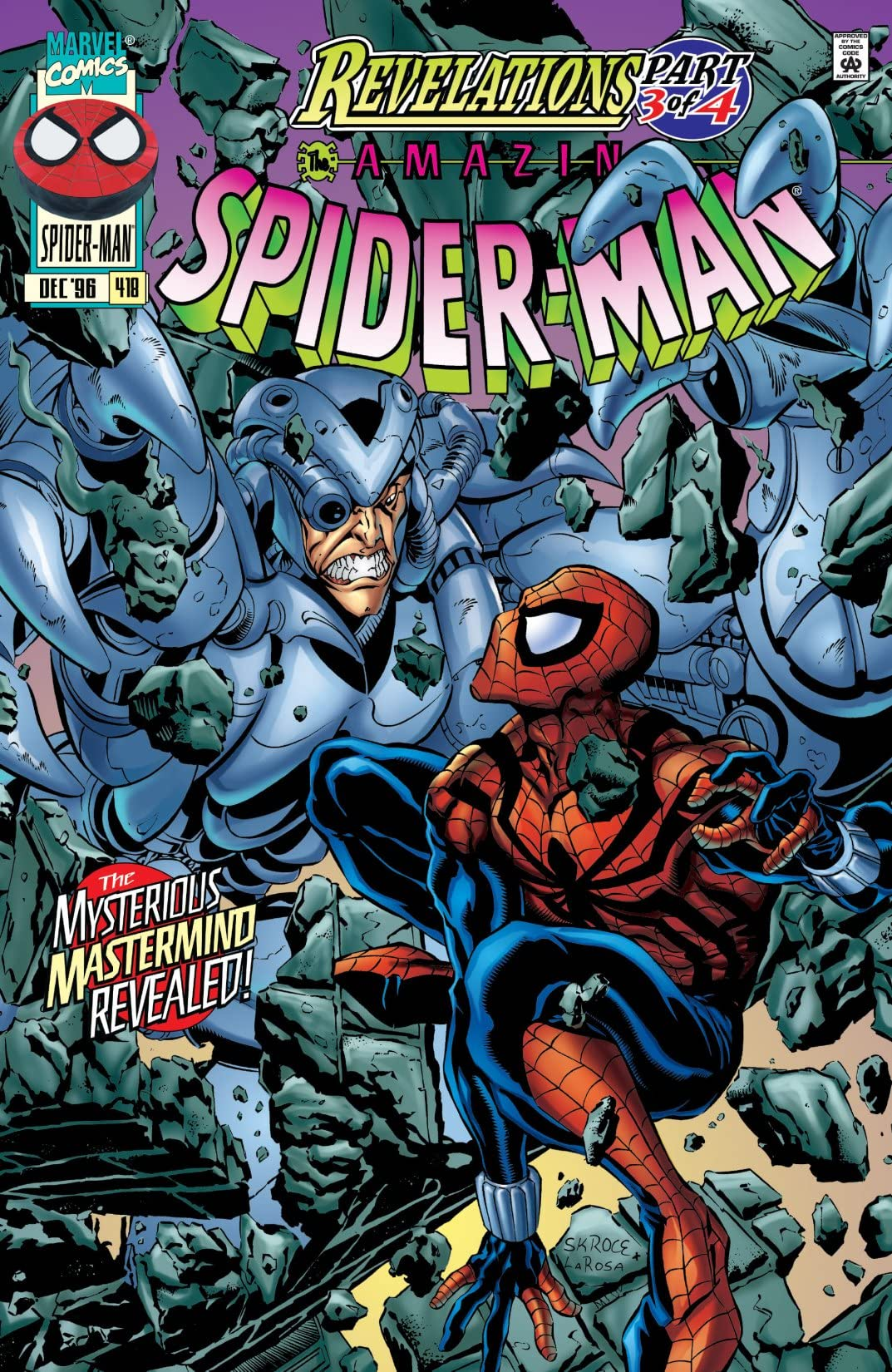 Amazing Spider-Man (1963-1998) #418