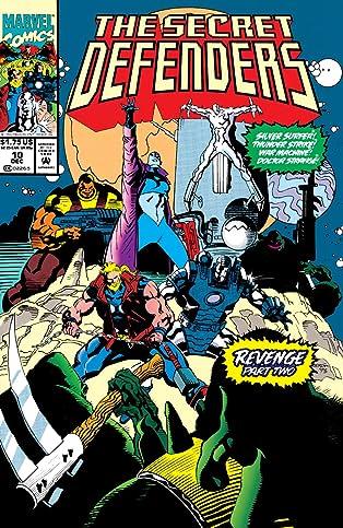 Secret Defenders (1993-1995) #10