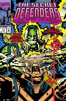 Secret Defenders (1993-1995) #11