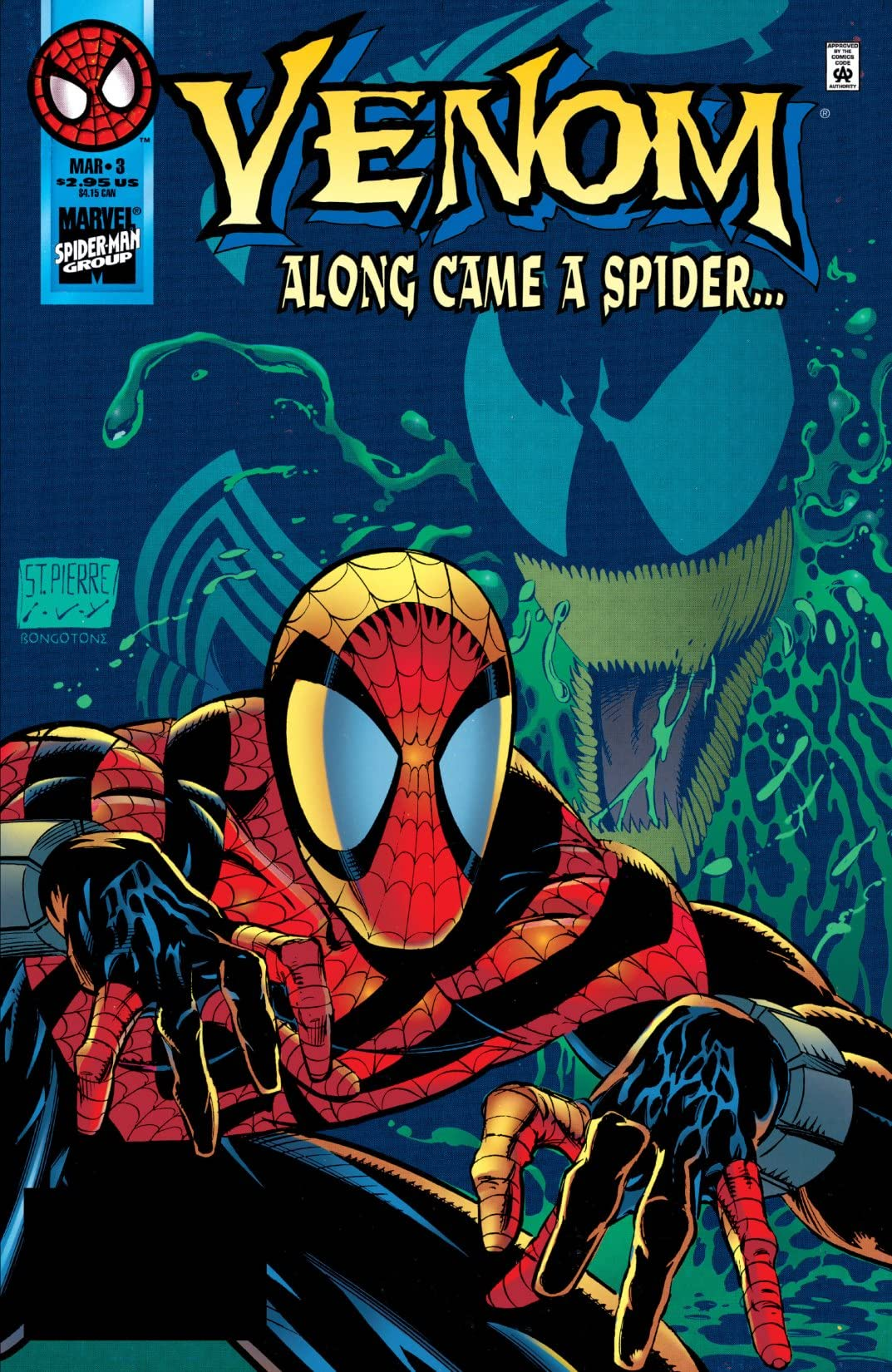 Venom: Along Came A Spider (1996) #3 (of 4)