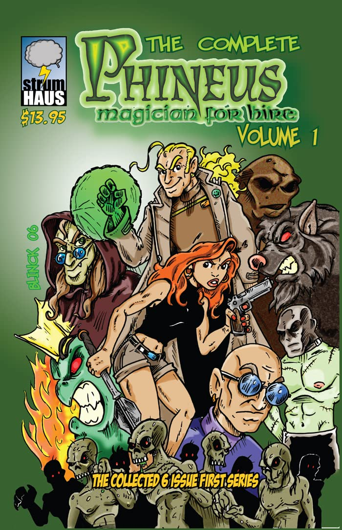 Phineus: Magician for Hire Vol. 1