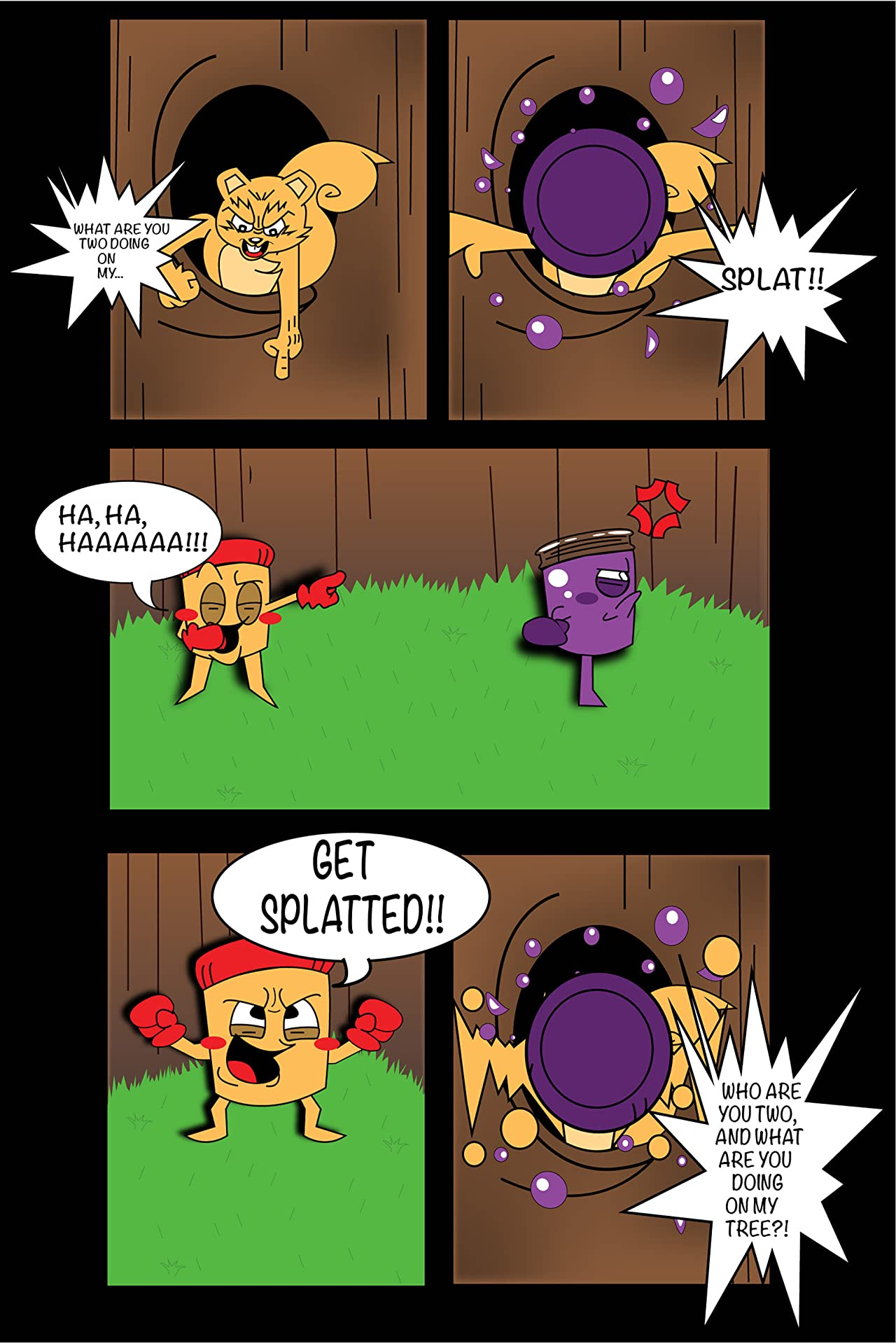 The Adventures of Pb&J #1