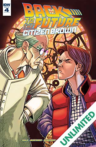 Back To The Future: Citizen Brown #4 (of 5)