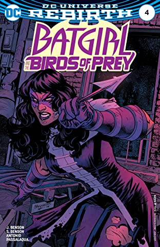 Batgirl and the Birds of Prey (2016-2018) No.4