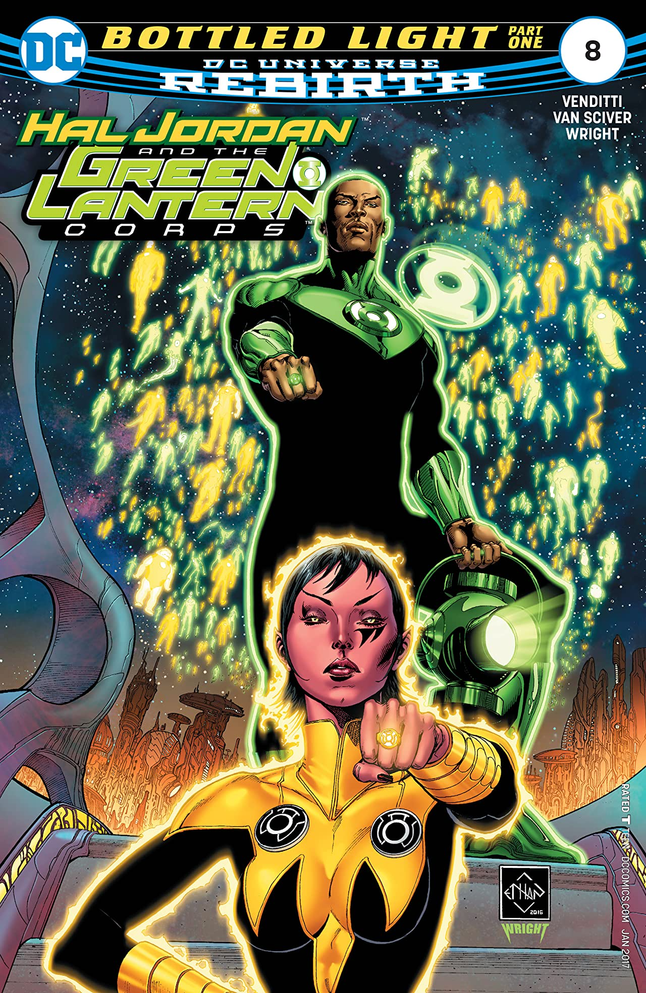 Hal Jordan and The Green Lantern Corps (2016-) #8