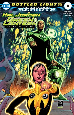 Hal Jordan and the Green Lantern Corps (2016-2018) #8